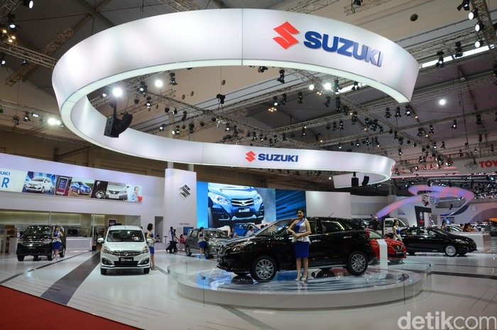 Booth Suzuki di GIIAS 2016