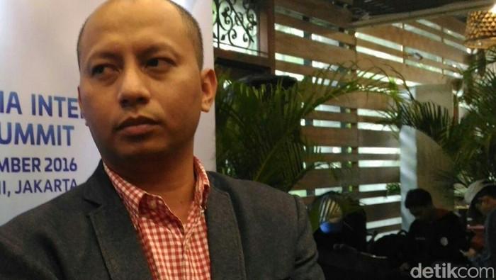 Jamalul Izza, Ketua Umum APJII (detikINET/Rachmatunnisa)