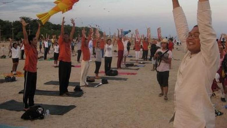 Yoga di SVF tahun lalu (Gede/detikTravel)