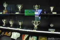 Museum di stadionnya berisi piala-piala yang dimenangi Real Madrid (Rizky Ramandhika/detikTravel)