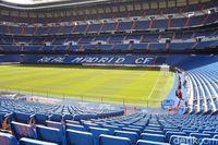 Melihat panorama Stadion Santiago Bernabue (Rizky Ramandhika/detikTravel)