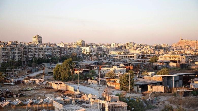Pangkalan Suriah Ditembaki Rudal, 26 Petempur Pro-Assad Tewas
