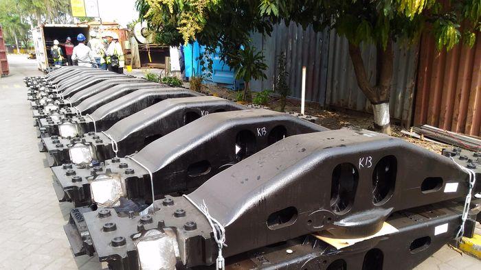 PT Barata Indonesia mengekspor bogie kereta api ke Mexico