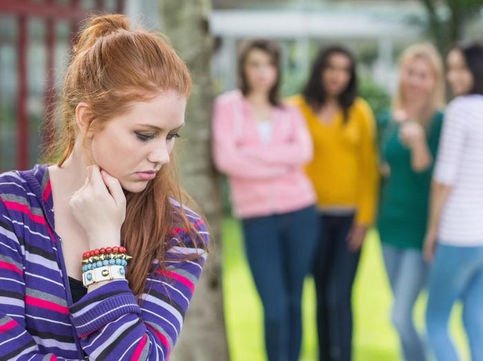 Ilustrasi seorang mahasiswa di-bully teman kelas/Foto: Thinkstock