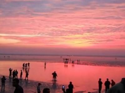 Aneh Tapi Nyata, Pantai di India Bisa Menghilang 2 Kali Sehari