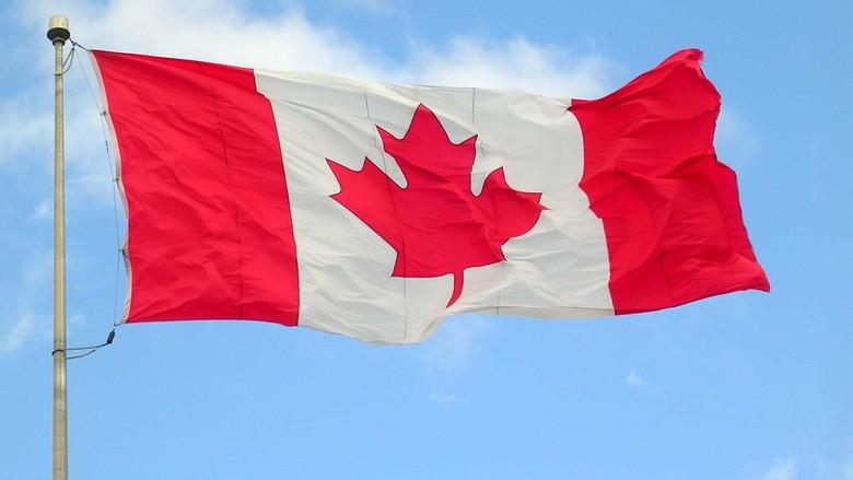 Ilustrasi Bendera Kanada