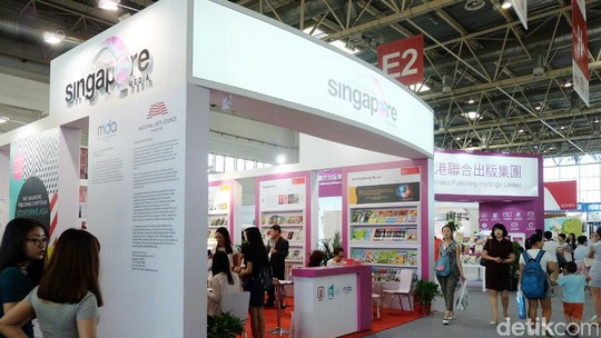 Suasana Beijing International Book Fair 2016