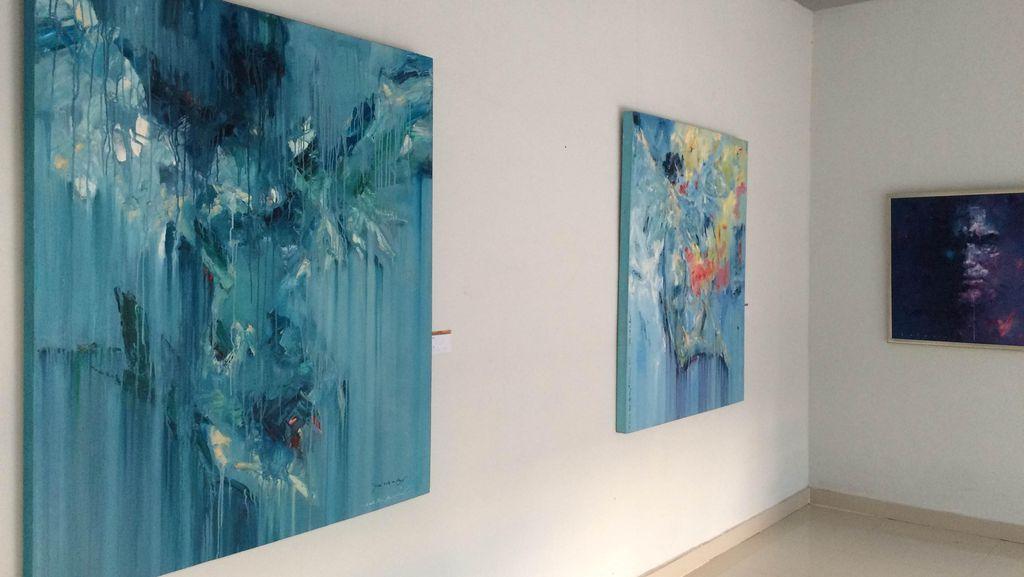 Melihat Pameran Lukisan Hingga Seni Instalasi di Bulan Budaya Lombok