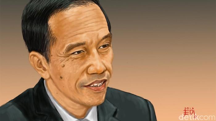 Ilustrasi Presiden Jokowi