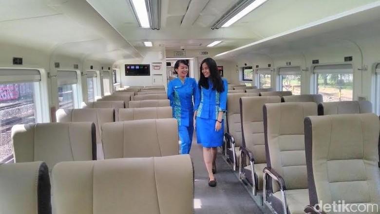 Kereta Api Ekonomi Rasa Kelas Eksekutif Rute Surabaya
