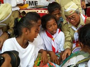 Kado Pertamina untuk Anak-anak di Daerah Tertinggal