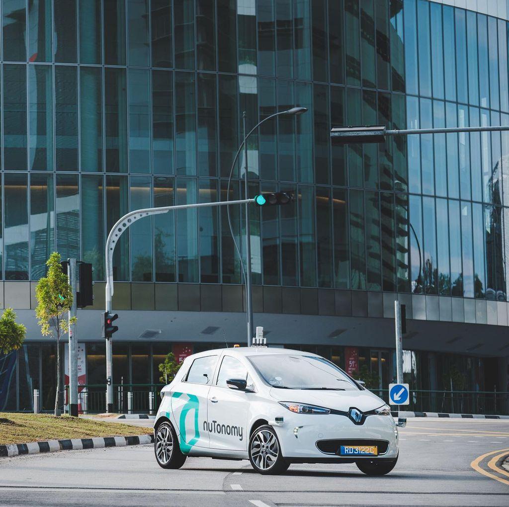 Taksi Robot Segera Lalu Lalang di China