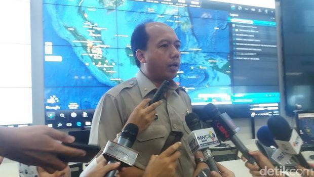 Kepala Pusat Data, Informasi dan Humas BNPB Sutopo Purwo Nugroho
