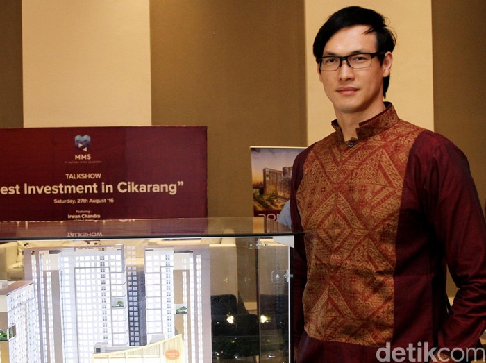 Irwan Chandra ketagihan investasi apartemen.