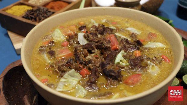 Tongseng menjadi salah satu makanan favorit yang dibuat dari daging kambing atau sapi