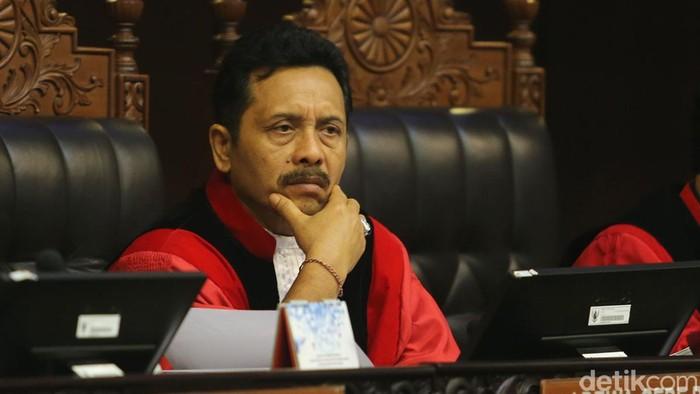 Hakim Konstitusi I Dewa Gede Palguna (Ari Saputra/detikcom)
