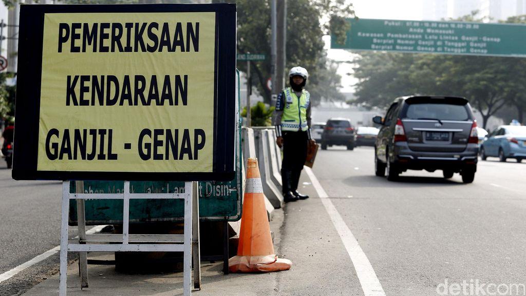 Ganjil-genap 15 Jam di Jakarta Diusulkan Kembali Diberlakukan