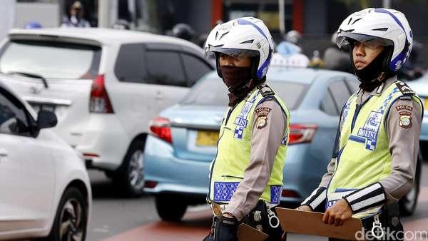 Total 348 Kendaraan Ditilang di Hari Pertama Pemberlakuan Ganjil-Genap