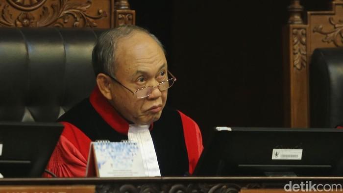 Hakim Konstitusi Wahiduddin Adams