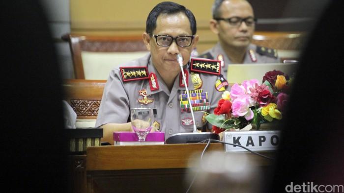 Kapolri Jenderal Tito Karnavian  Foto: Lamhot Aritonang/detikFoto
