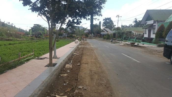 Trotoar di Desa Bonton Marannu. Foto: Ahmad Toriq/detikcom