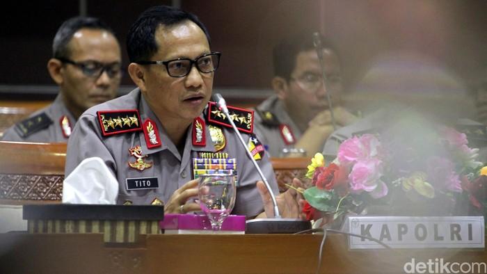 Kapolri Jenderal Tito Karnavian (Lamhot Aritonang/detikFoto)