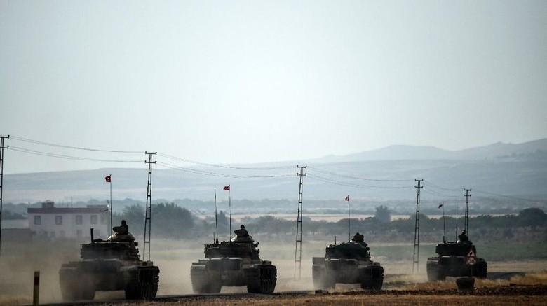 Iran Komentari Serangan Militer Turki di Suriah
