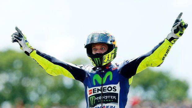 Valentino Rossi juara MotoGP 2009.