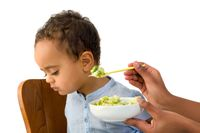 Anak rewel saat makan.
