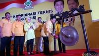 Ketum Golkar Setya Novanto membuka Rapat Koordinasi Teknis (Rakornis) Pemenangan Pemilu Wilayah Indonesia 1 Partai Golkar.
