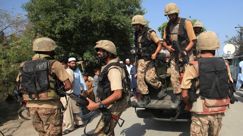 10 Tentara Pakistan Tewas Diserang Pemberontak Saat Patroli