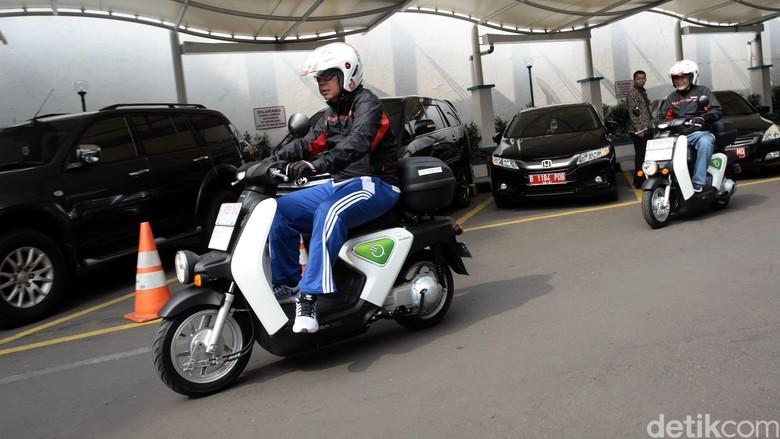 Motor listrik Honda EV Neo (Foto: Grandyos Zafna)