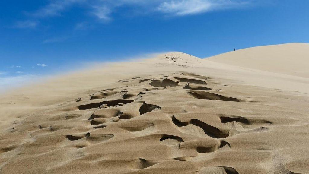 Gurun Pasir yang Bisa Bernyanyi di Kazakhstan