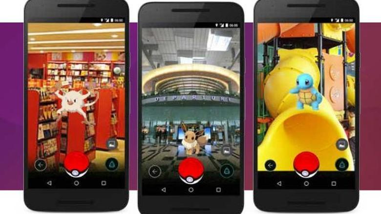 Pokemon di Bandara Changi (Bandara Changi)