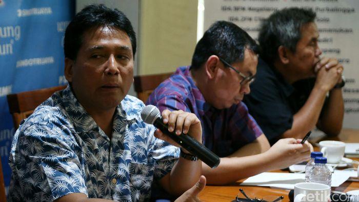 Ketua Umum Asosiasi Pengusaha Indonesia (Apindo) Hariyadi Sukamdani/Foto: Agung Pambudhy