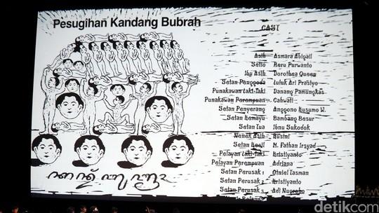 Pertunjukan Film Setan Jawa