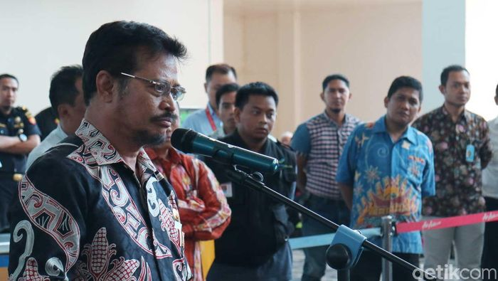 Foto: Gubernur Sulawesi Selatan Syahrul Yasin Limpo/ Amang detikcom