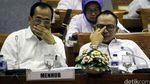 Menaker dan Menhub Rapat dengan Komisi IX DPR
