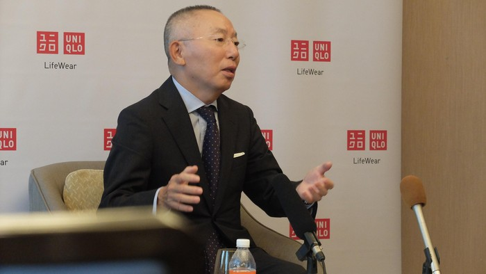 CEO Uniqlo, Tadashi Yanai