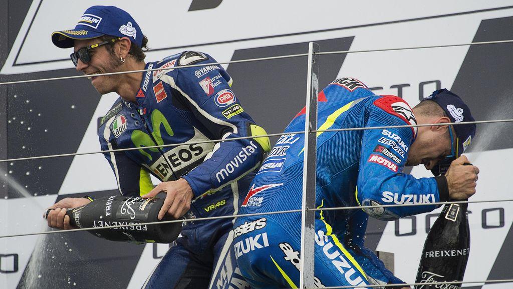 Podium Silverstone yang Bikin Rossi Amat Gembira