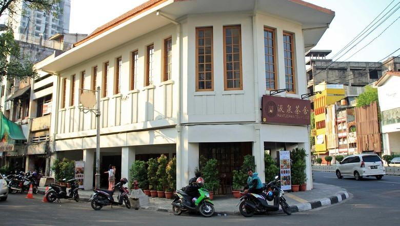 Pantjoran Tea House di kawasan Glodok (Randy/detikTravel)
