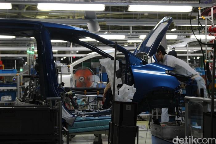 Pabrik Toyota All New Sienta di Jepang di Indonesia memiliki kualitas yang sama.