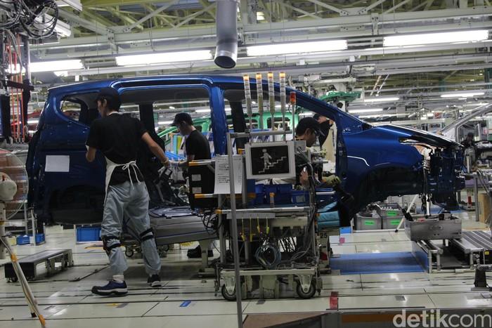Pabrik Toyota All New Sienta di Jepang dan Indonesia miliki kualitas yang sama.