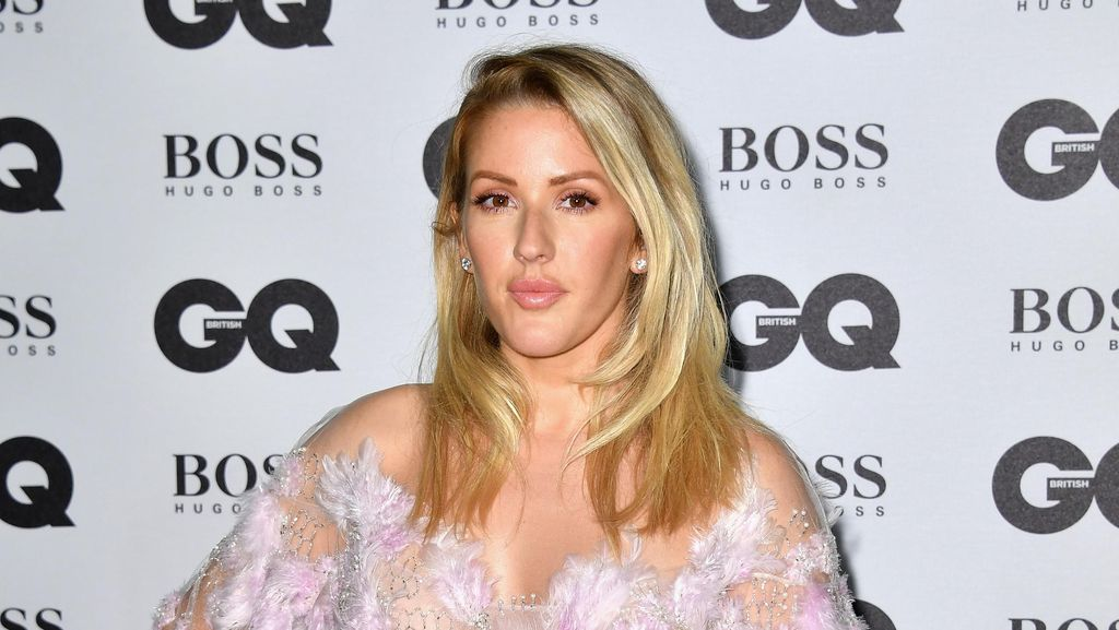 Menikah, Ellie Goulding Pakai Gaun yang Dibuat 640 Jam