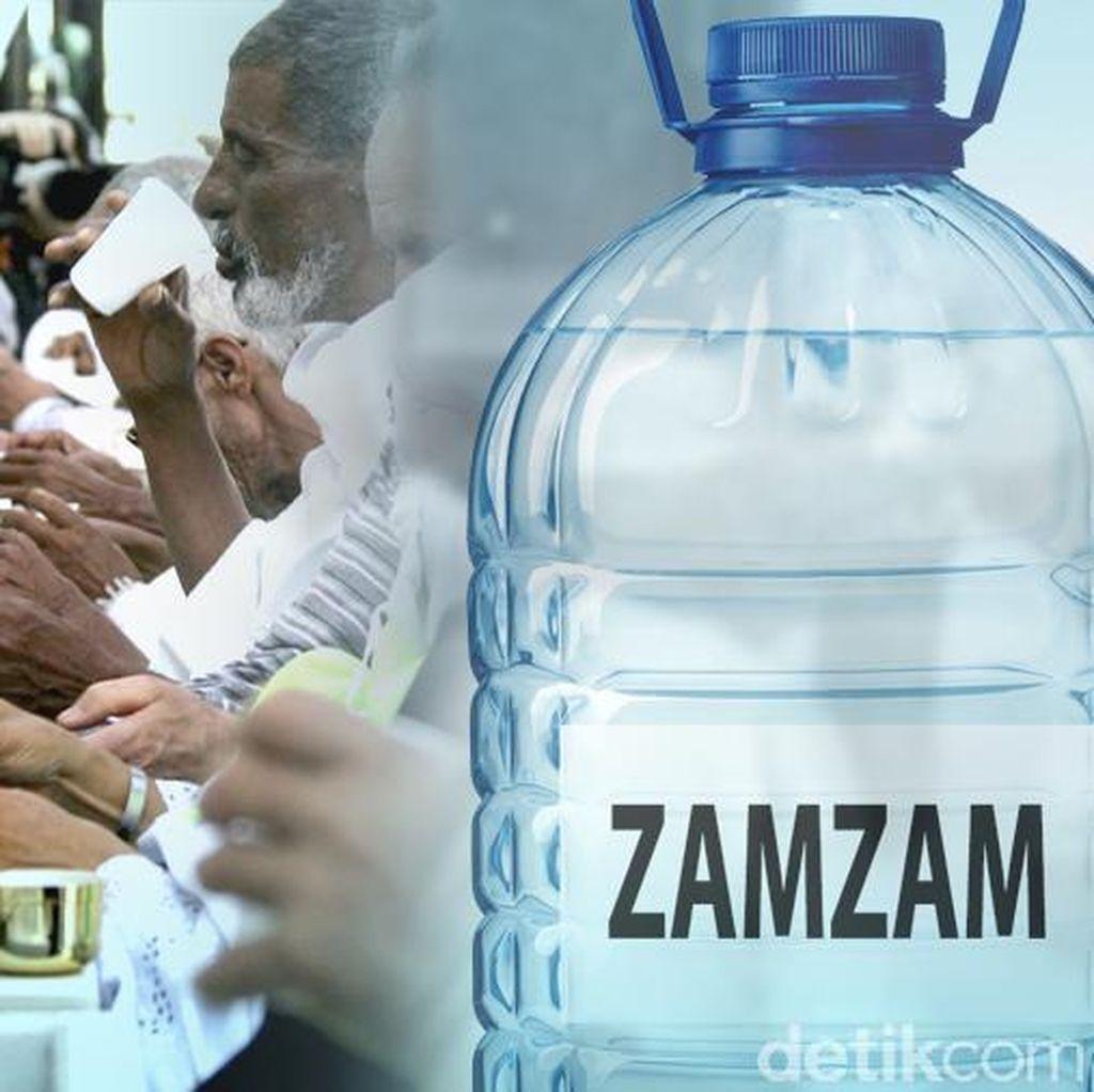 Jemaah Haji RI Masih Banyak Simpan Air Zamzam di Koper