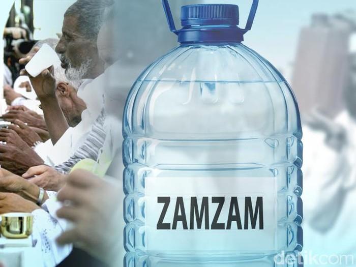 Sebut Air Alkali Tak Berbahaya Dokter Contohkan Air Zamzam
