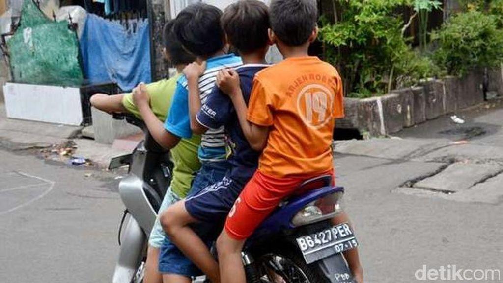 4 Hal yang Harus Dilakukan Orang Tua saat Anak Naik Motor