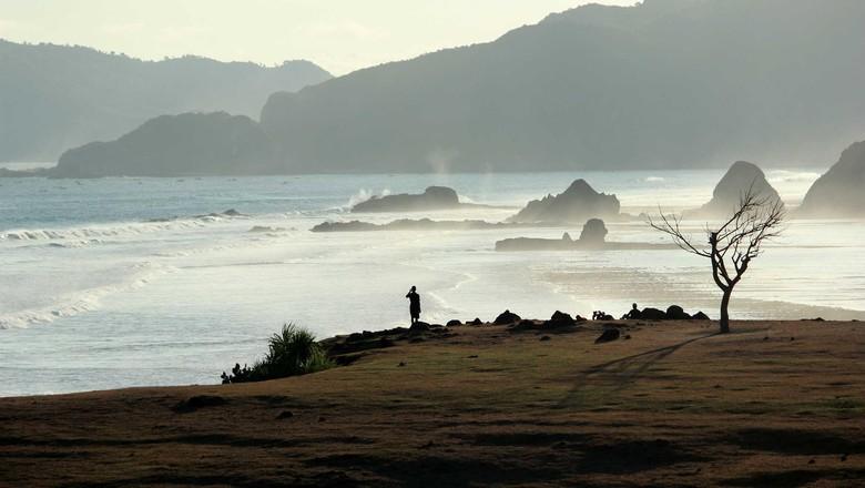 Bukit Merese, salah satu keindahan di Lombok (Randy/detikTravel)