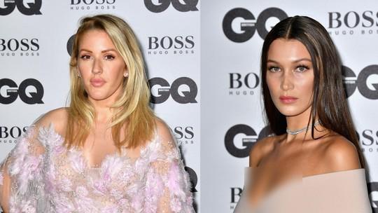 Seksinya Ellie Goulding dan Bella Hadid