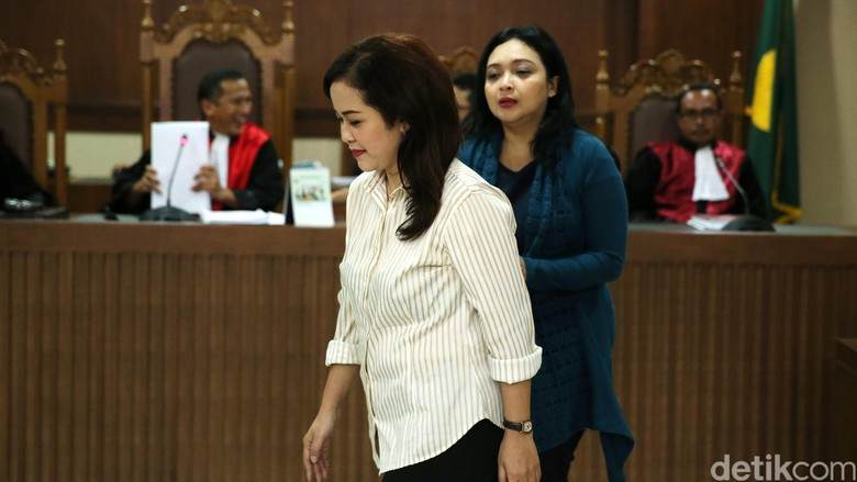 Dua Asisten Cantik Damayanti Divonis 4 Tahun Penjara